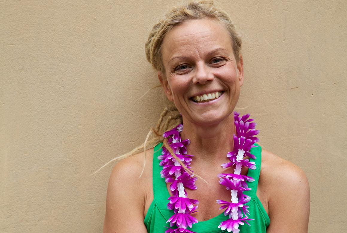Portrait of Mallika Giarimi for Hawaiian Lomi Lomi massage in Stockholm, photo: Jessika Jarl